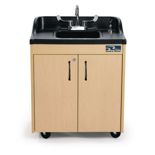 ozark river lil portable hot water sink with abs top and basin