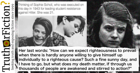 Image result for 1943 – Deathday of 1943 – Hans & Sophie Scholl