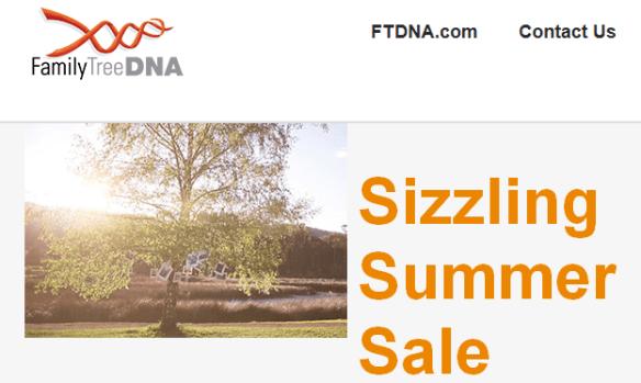 ftdna sale 6-27-2013