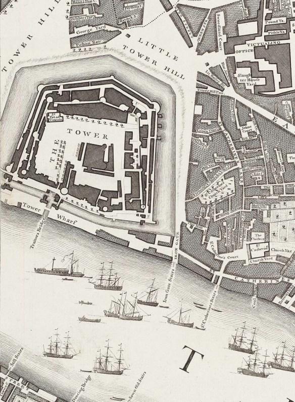 1746 London Map