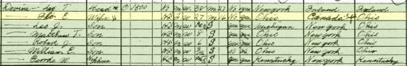 Bailey-Devine 1930 census