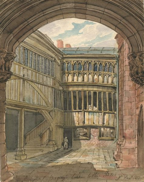 Coventry guild hall 1810