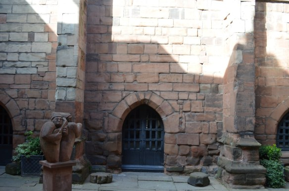 Coventry guild hall door