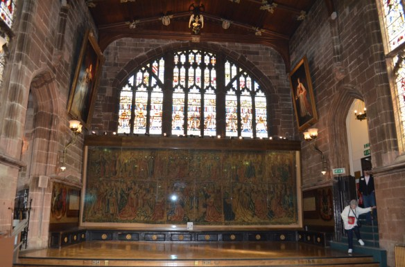 Coventry guild hall tapestry