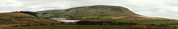 Pendle hill panoramic