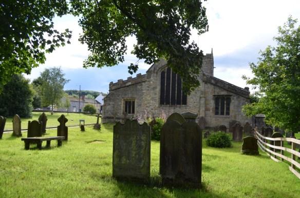 St Mary Gisburn churchyard