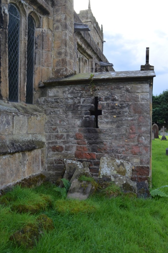 St Mary Gisburn removed stones