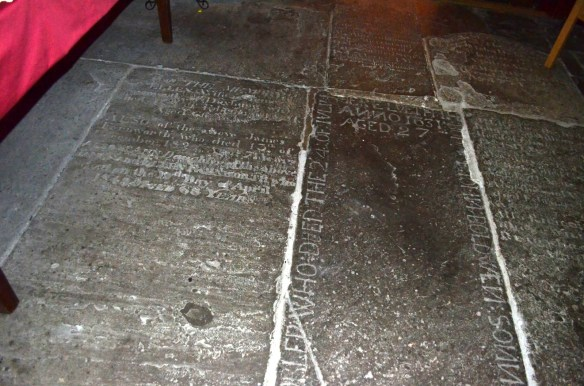 St Laurence floor burials
