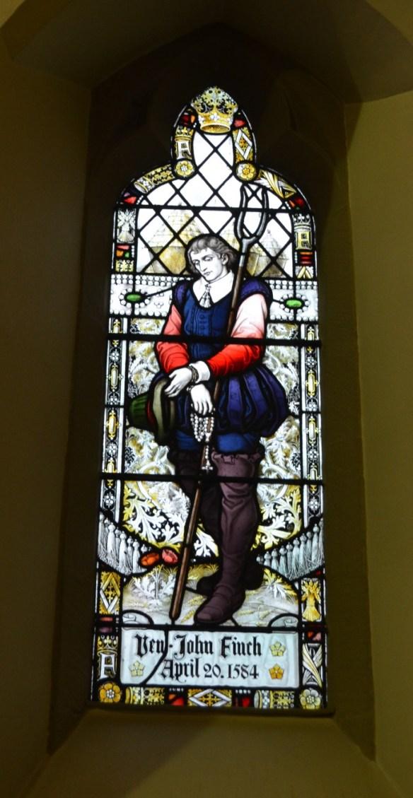St Mary John Finch Window cropped