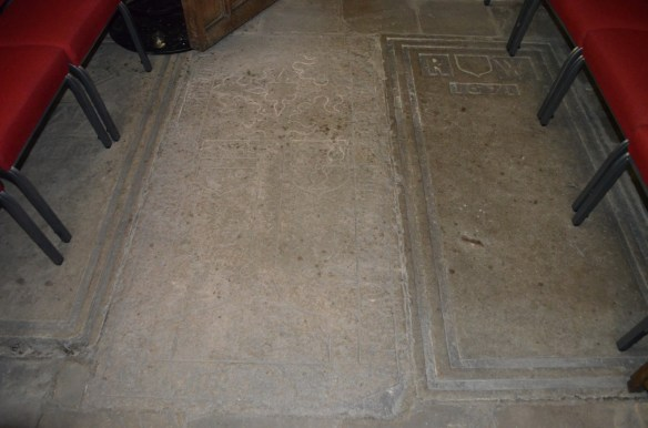 St Mary Whalley floor burials