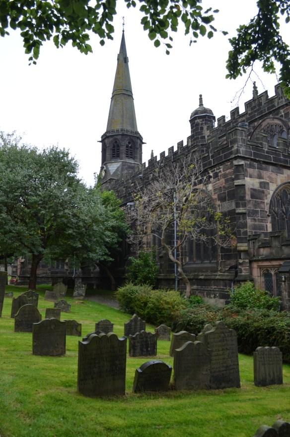 St Wilfrid churchyard
