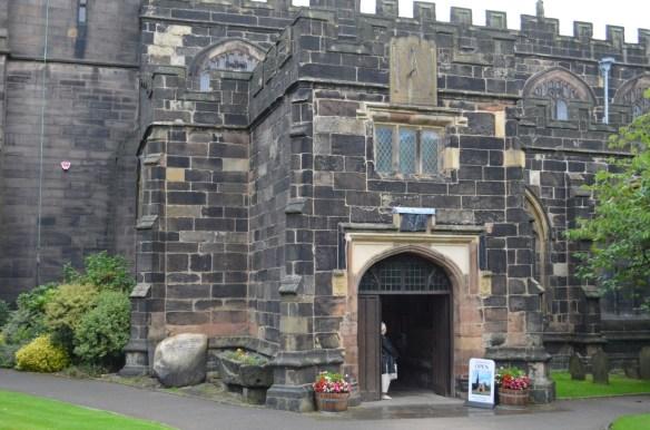 St Wilfrid entrance