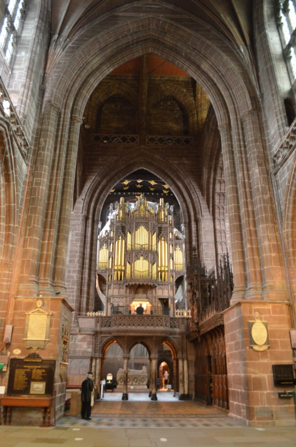 Chester cathedral organ 2