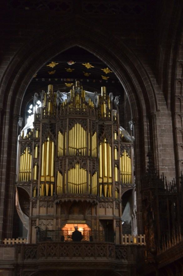 Chester cathedral organ