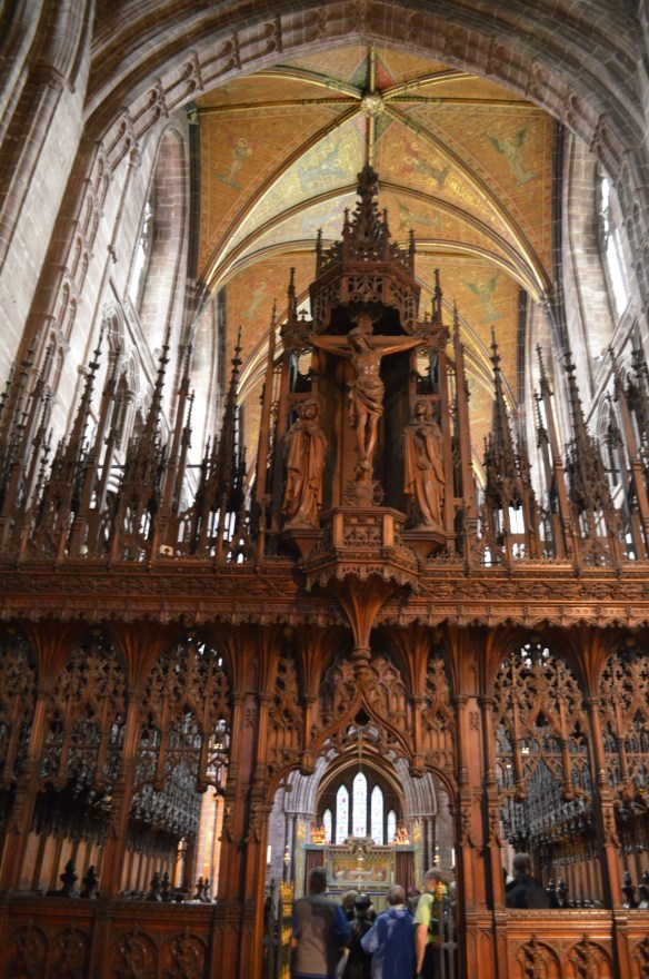 Chester rood screen