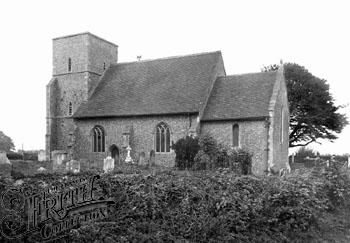 St Nicholas Sholden 1918