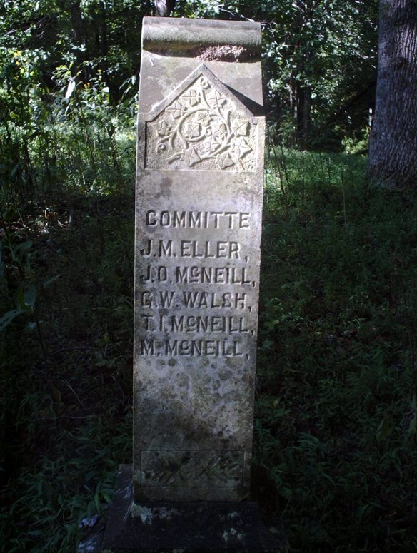Geo McNiel stone 3