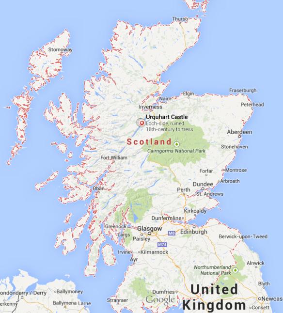 urquhart map