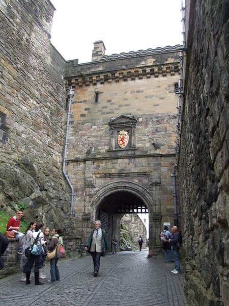 Edinburgh castle argyll tower