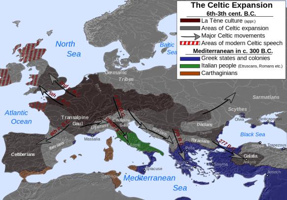 celtic europe expansion