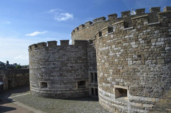 deal castle courtyard