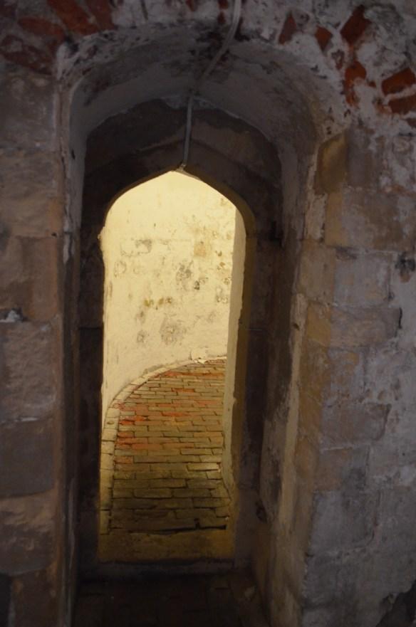 deal castle doorway and hallway