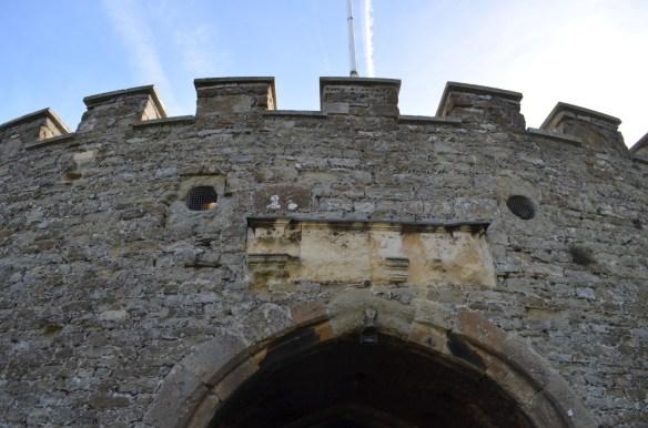deal castle drawbridge holes