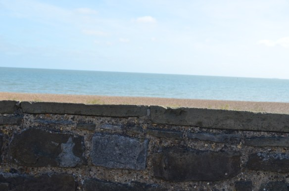 deal castle sea over wall