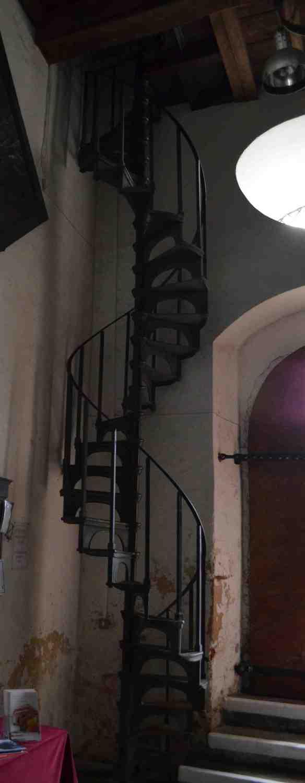st leonard bell ringer stairs