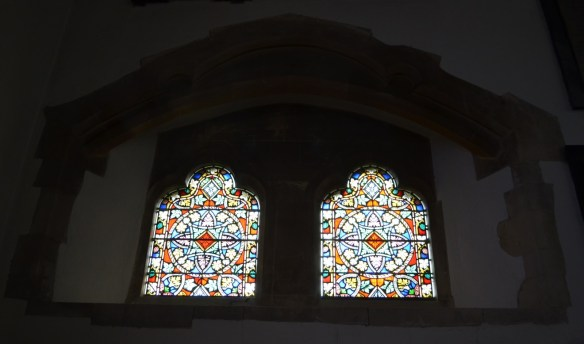 st leonard piscina window