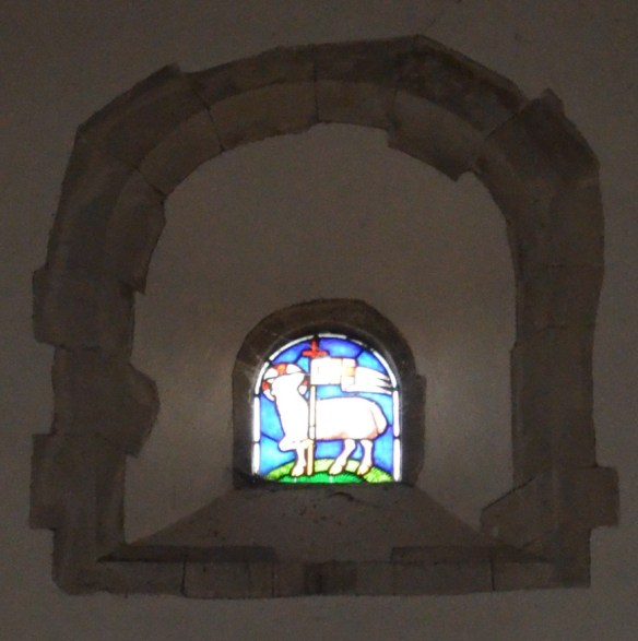 st leonard sheep window