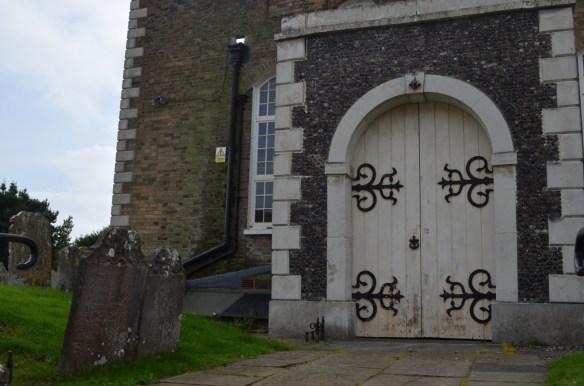 st leonard's north door