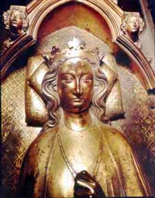 Tomb effigy of Eleanor of Castile, Westminster Abbey