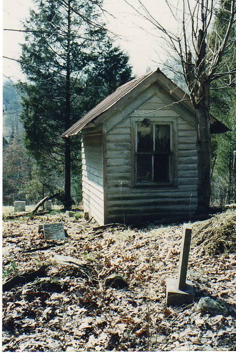 flossie akers grave house2