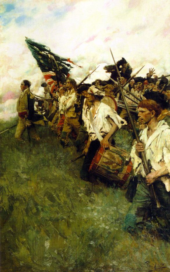 Battle of Brandywine by Pyle