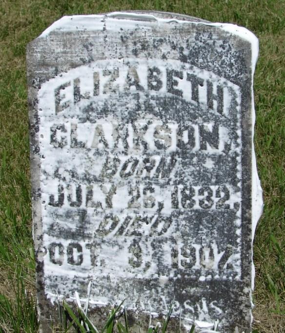 clarkson cemetery elizabeth
