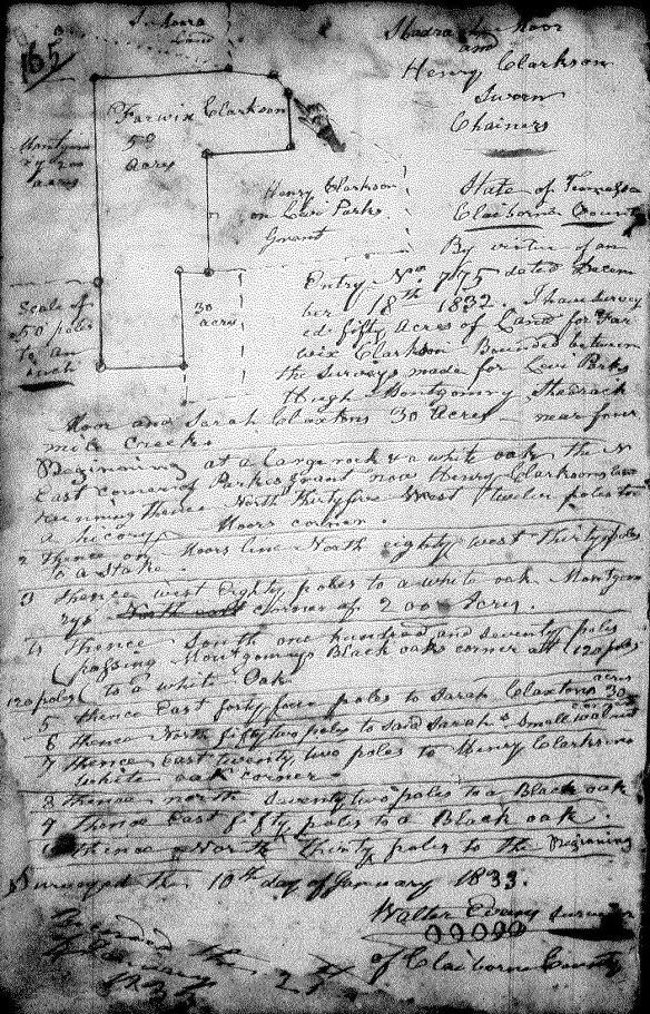 Fairwick Clarkson 1833