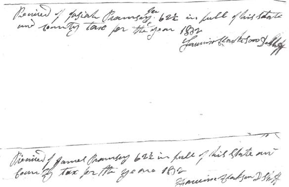 Fairwick Clarkson signature