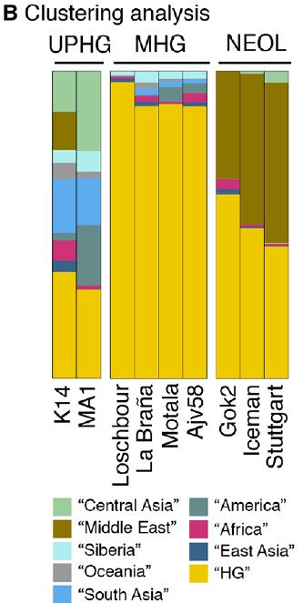 k14 population cluster