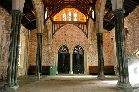 Winchester Castle great hall