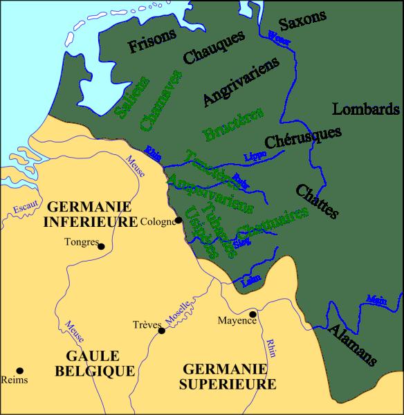 Frankish Tribes 3rd Century