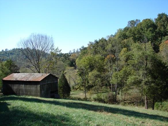 Lazarus barn toward rutha