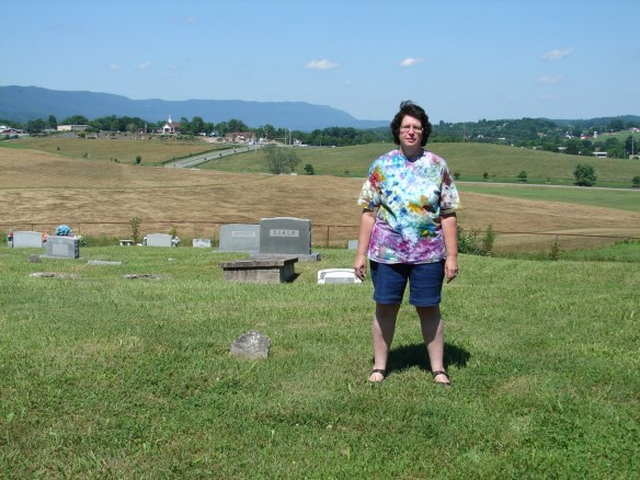 Me in Cottrell Cemetery
