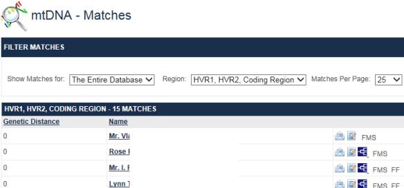 mtdna matches plus ff