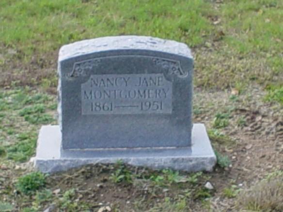 Nancy Jane Estes Montgomery