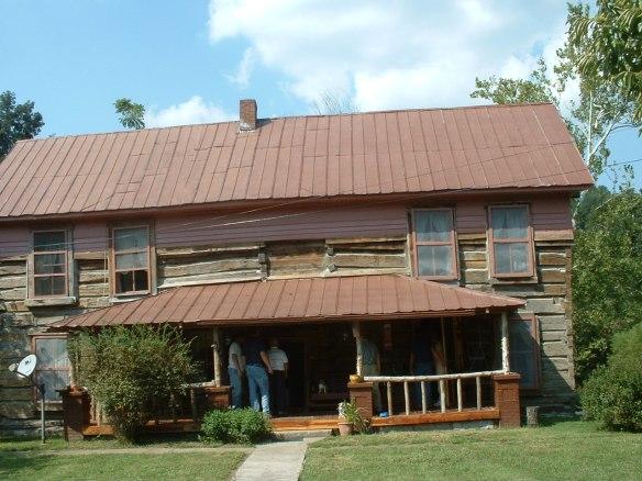 front of Walker house