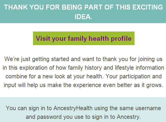 ancestry health final