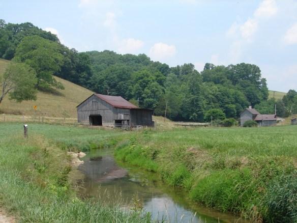 Barn scene