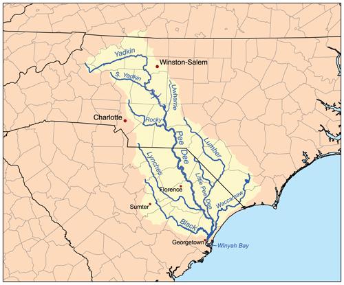 Yadkin watershed