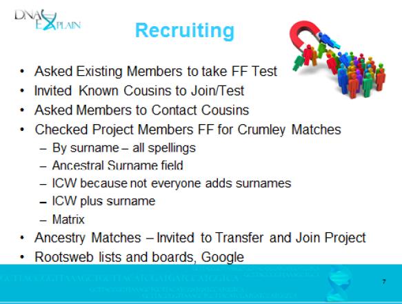 2015 ftdna estes recruiting